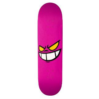 Phantom Smile™ Hot Pink Skateboard Deck