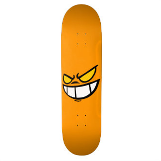 Phantom Smile™ Light Orange Skateboard Deck