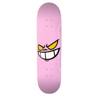 Phantom Smile™ Light Pink Skateboard Deck