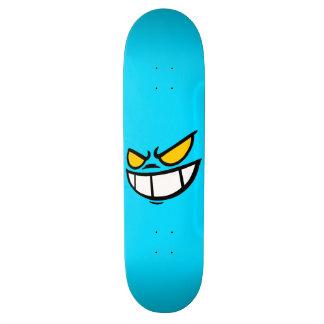 Phantom Smile™ Sky Blue Skateboard Deck