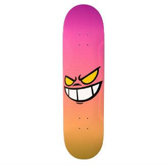Phantom Smile™ Sunset Pink Skateboard Deck