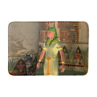Pharao in the pyramid bath mats