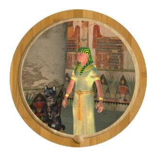 Pharao in the pyramid