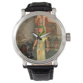 Pharao in the pyramid wrist watches
