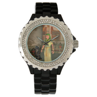 Pharao in the pyramid wristwatches