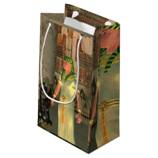 Pharao in the pyramid small gift bag