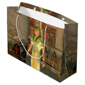 Pharao in the pyramid large gift bag
