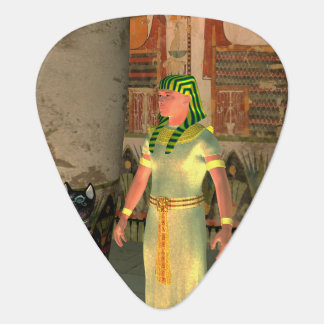 Pharao in the pyramid plectrum