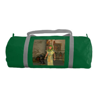 Pharao in the pyramid gym duffel bag