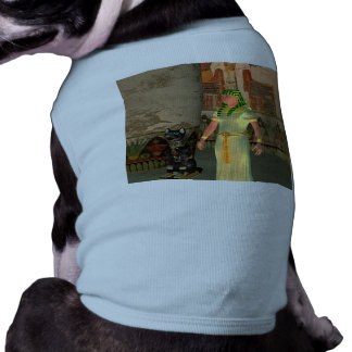 Pharao in the pyramid sleeveless dog shirt