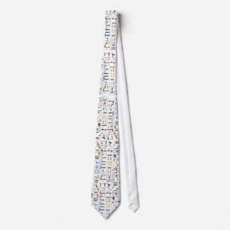 Pharaoh Ancient Egypt Ash Color Tie