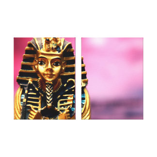 Pharaoh Ancient Egyptian Tomb Art Canvas