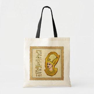 Pharaoh Hieroglyphics Egyptian Folk Art Bag
