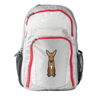 Pharaoh Hound Dog Cartoon Backpack