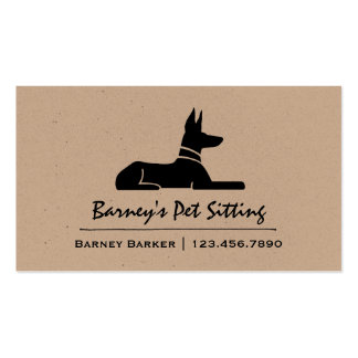 Pharaoh Hound Pack Of Standard Business Cards