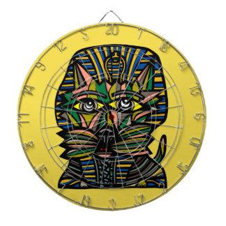 """""""Pharaoh Kat"""" Metal Cage Dartboard"""