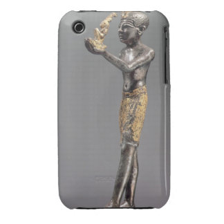 Pharaoh making an offering before the Goddess Maat iPhone 3 Cover