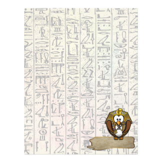 Pharaowls papershop customised letterhead