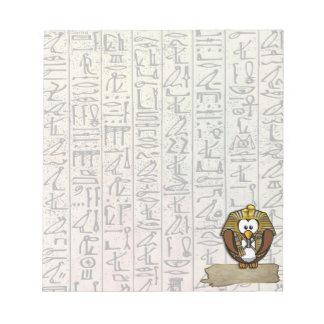 Pharaowls papershop memo pad