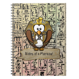 Pharaowls papershop spiral note book