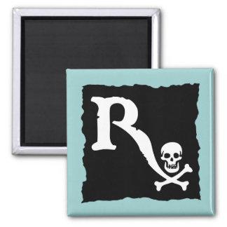 Pharmaceutical Pirate II Square Magnet