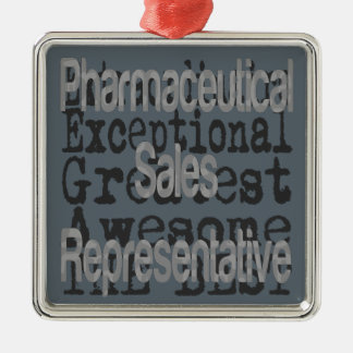 Pharmaceutical Sales Representative Extraordinaire Christmas Ornament