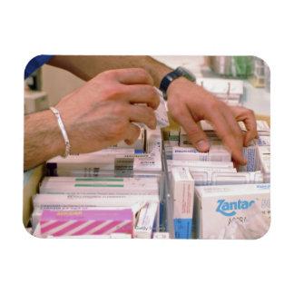 Pharmacist 2 rectangular photo magnet