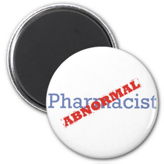 Pharmacist / Abnormal 6 Cm Round Magnet