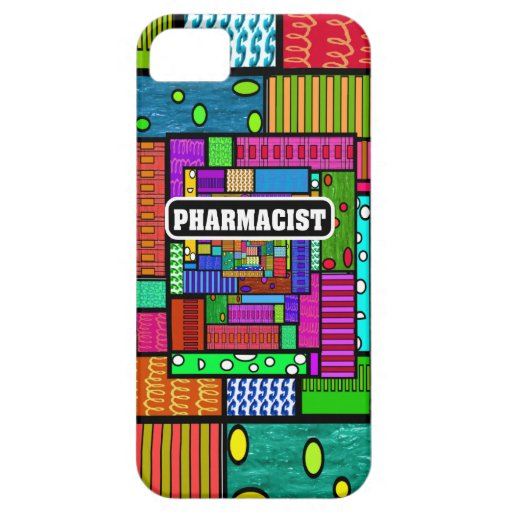 Pharmacist Abstract iPhone and Electronics Cases iPhone 5 Covers