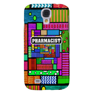 Pharmacist Abstract iPhone and Electronics Cases HTC Vivid Cover
