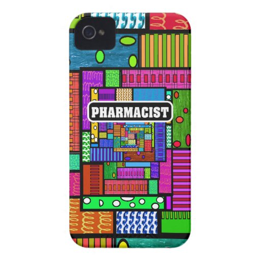 Pharmacist Abstract iPhone and Electronics Cases iPhone 4 Cover