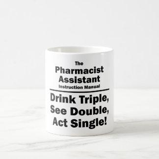 pharmacist assistant basic white mug