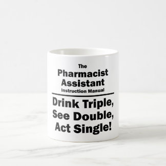 pharmacist assistant coffee mug