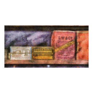 Pharmacist - Assorted Cures Personalized Photo Card