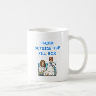 pharmacist basic white mug
