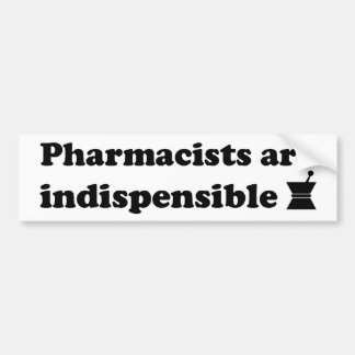 Pharmacist Bumper Sticker 2