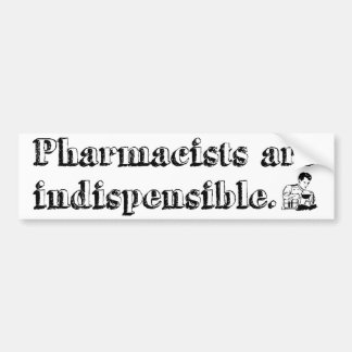 Pharmacist Bumper Sticker 3