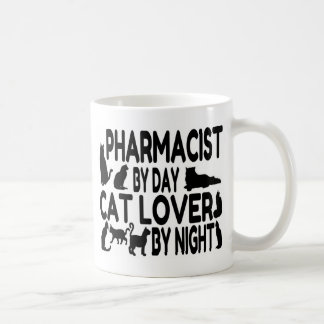 Pharmacist Cat Lover Coffee Mug