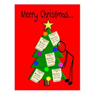 Pharmacist Christmas Cards Postcards