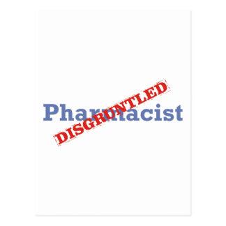 Pharmacist Disgruntled Post Cards