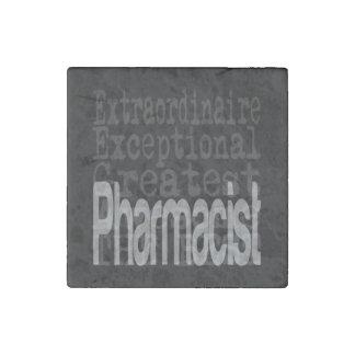 Pharmacist Extraordinaire Stone Magnet