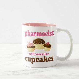 Pharmacist (Funny) Gift Two-Tone Coffee Mug