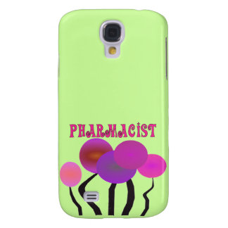 Pharmacist Gifts Artsy Trees Design Galaxy S4 Case