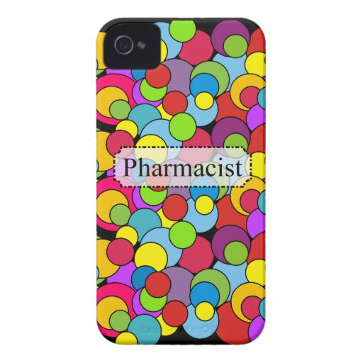 Pharmacist Gifts Whimsical Bubbles Case-Mate iPhone 4 Cases