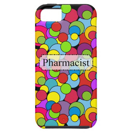 Pharmacist Gifts Whimsical Bubbles iPhone 5/5S Cover