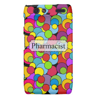 Pharmacist Gifts Whimsical Bubbles Droid RAZR Case
