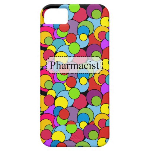 Pharmacist Gifts Whimsical Bubbles iPhone 5/5S Cases