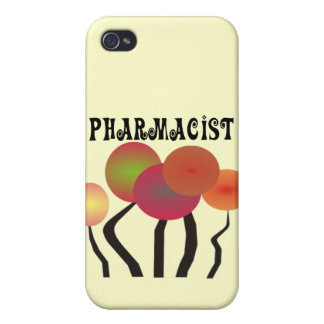 Pharmacist Gifts Whimsical Trees Design iPhone 4 Covers