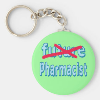 Pharmacist Graduation Products Basic Round Button Key Ring