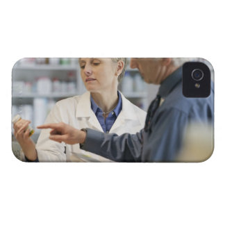 Pharmacist helping customer with medicine Case-Mate iPhone 4 case